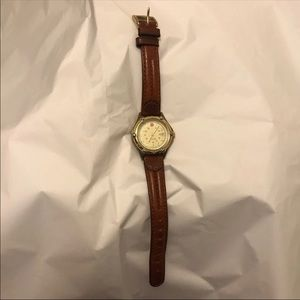 Wenger Genuine Leather Watch for women